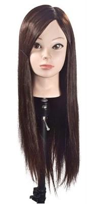 """Комплект: Манекен голова учебный """"Мелания"""" (брюнетка) и настольный штатиф для манекена - копия - фото 8435"""