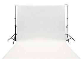 Бумажный фотофон 1,35 х 6 м, белый