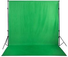 Тканевый фон 3 х 6 м, зеленый