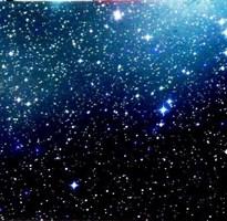 Панно Звездное небо 100х50 см