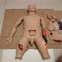 Манекен симулятор взрослого для отработки навыков ухода при травме