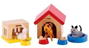 """Набор деревянных фигур """"Домашние животные"""""""