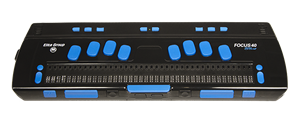 Портативный компьютер с вводом/выводом шрифтом Брайля и синтезатором речи ElBraille-W40J G1
