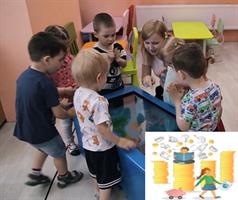 Детский сенсорный стол D-strana Kids «Финансовая грамотность для школы»