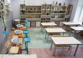 Комплект оборудования для гончарной мастерской на 10 учеников