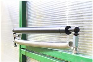 Термопривод для открывания дверей и форточек теплиц