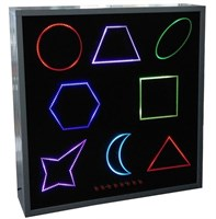 Панель (панно) интерактивная цветные фигуры